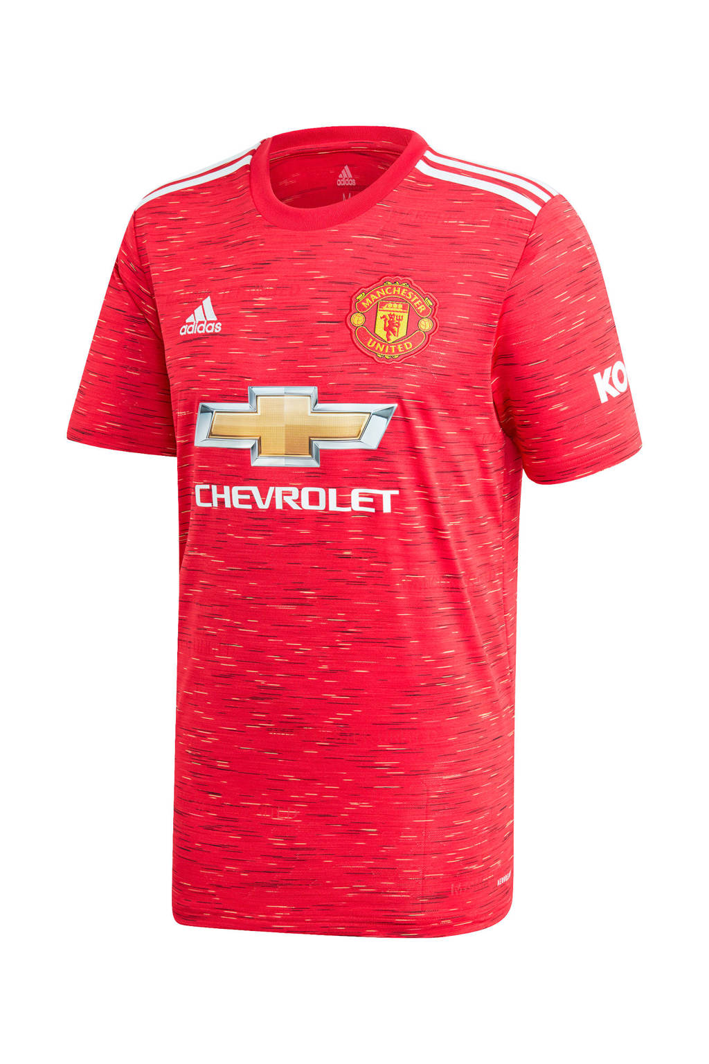adidas Performance Senior Manchester United thuis T-shirt rood, Rood