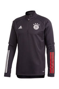 adidas Performance Senior FC Bayern München trainingstop zwart, Zwart