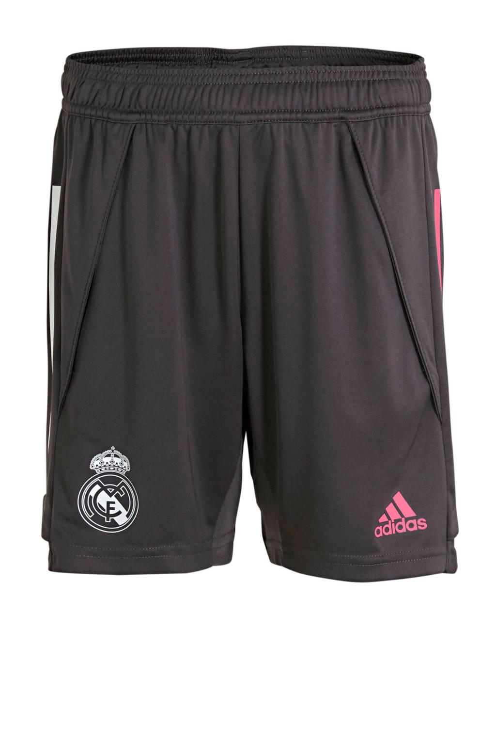 adidas Performance Junior Real Madrid training short grijs, Grijs