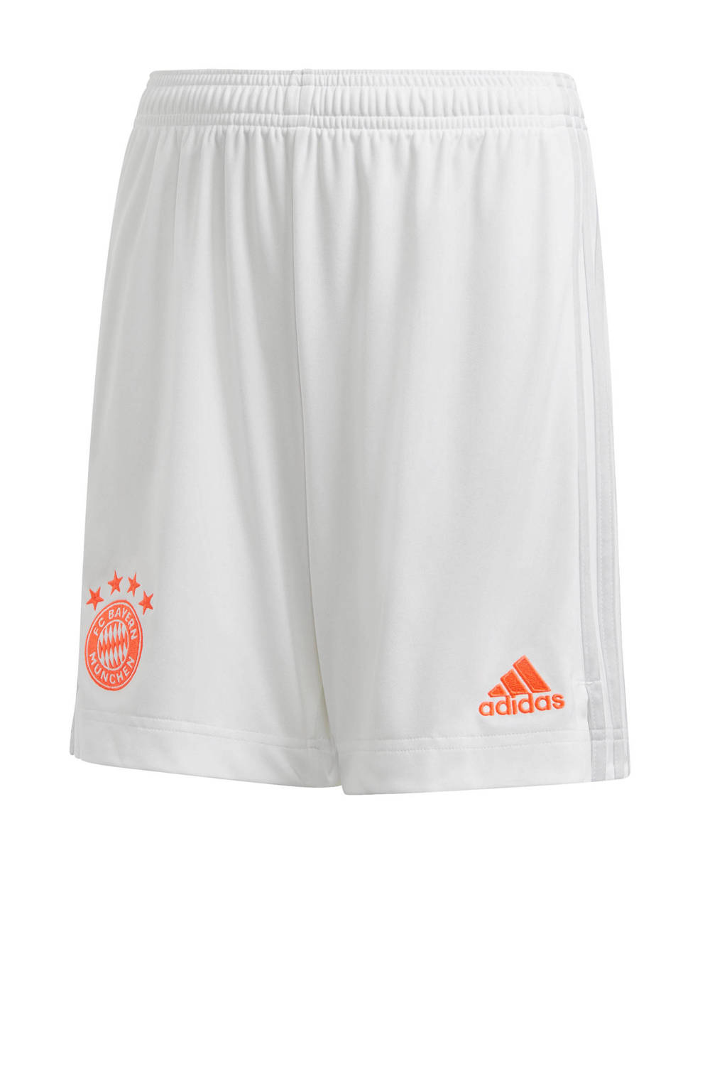adidas Performance Junior FC Bayern München uit short wit, Wit