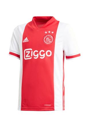 Junior Ajax thuis T-shirt rood/wit