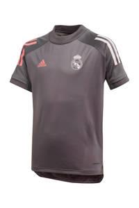 adidas Performance Junior Real Madrid voetbalshirt Training grijs, Grijs