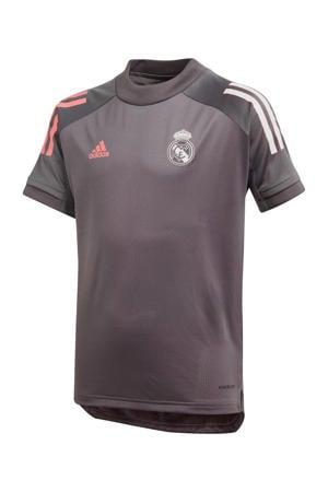 Junior Real Madrid voetbalshirt Training grijs