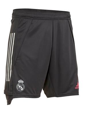 Senior Real Madrid training short grijs