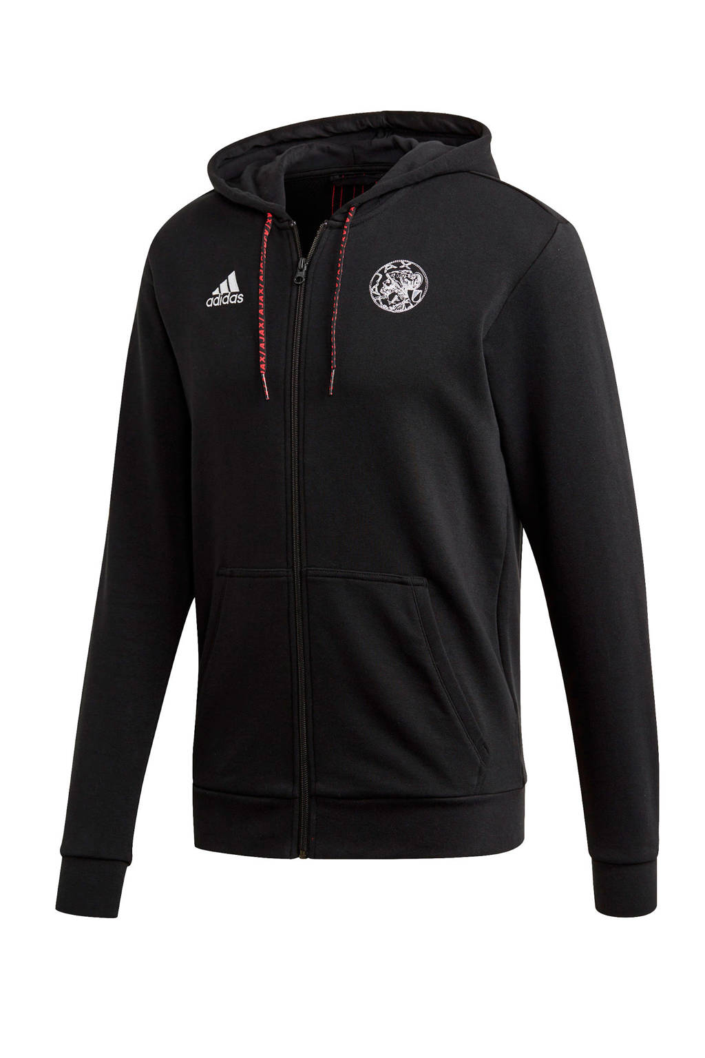 adidas Performance Senior Ajax vest zwart, Zwart