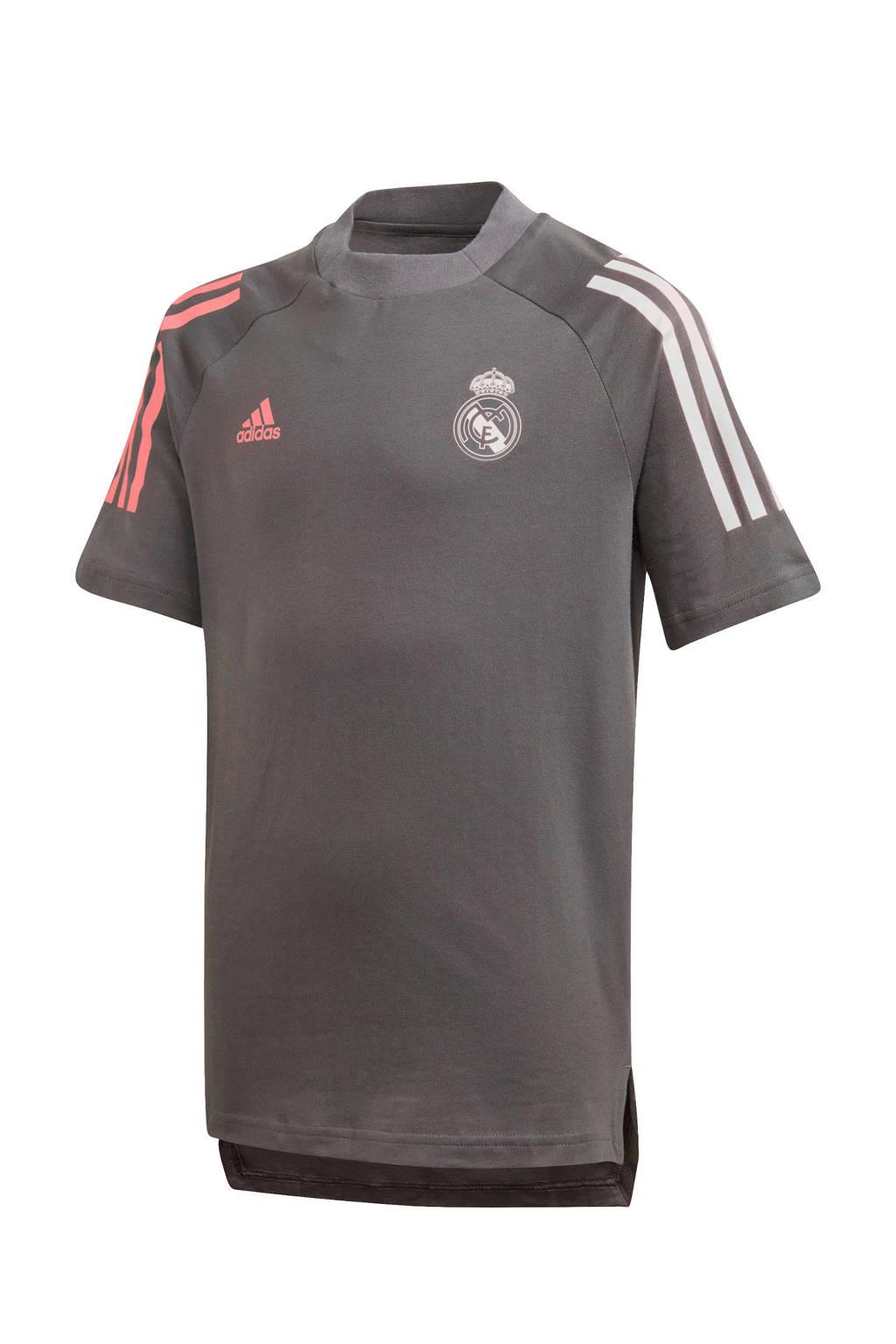 adidas Performance Junior Real Madrid voetbalshirt, Grijs