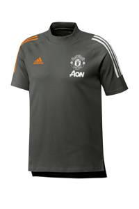 adidas Performance Senior Manchester United voetbalshirt donkergroen, Donkergroen