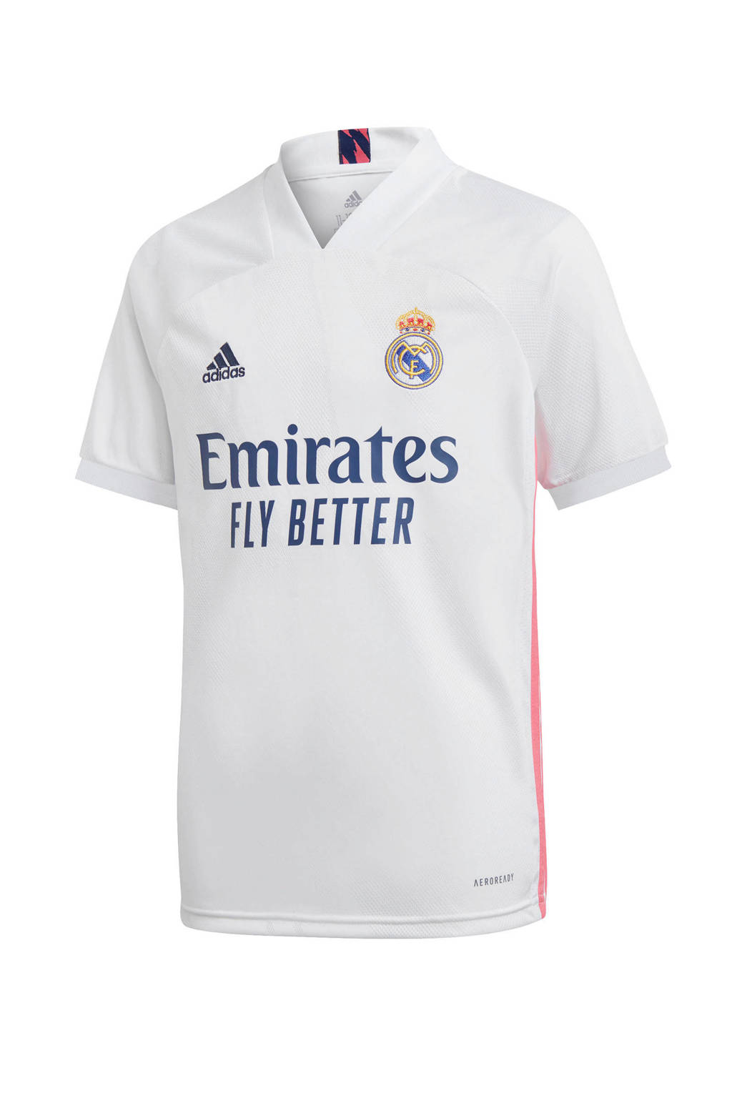 adidas Performance Junior Real Madrid voetbalshirt Thuis, Wit