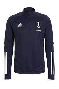 adidas Performance Senior Juventus trainingstop donkerblauw, Donkerblauw
