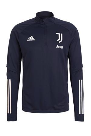 Senior Juventus trainingstop donkerblauw