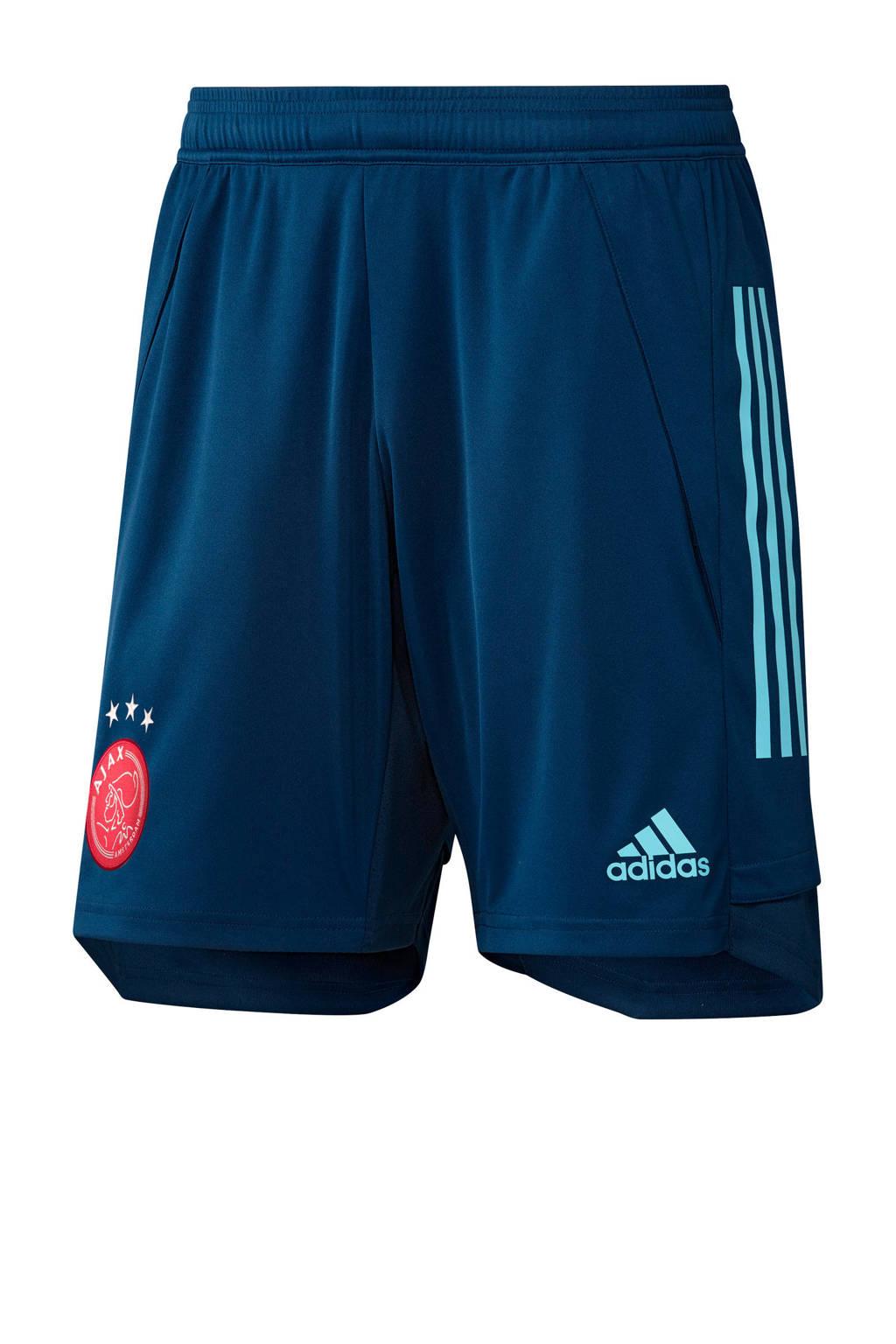 adidas Performance Senior Ajax training short donkerblauw, Donkerblauw