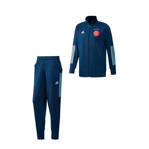 adidas Performance Senior Ajax trainingspak donkerblauw