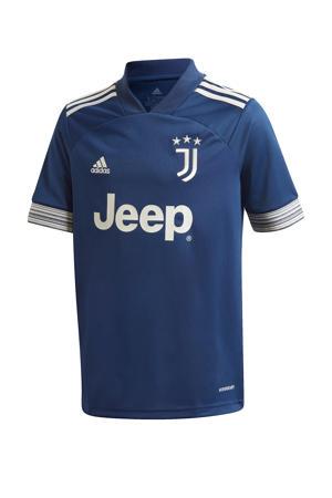 Junior Juventus Uit voetbalshirt donkerblauw/geel