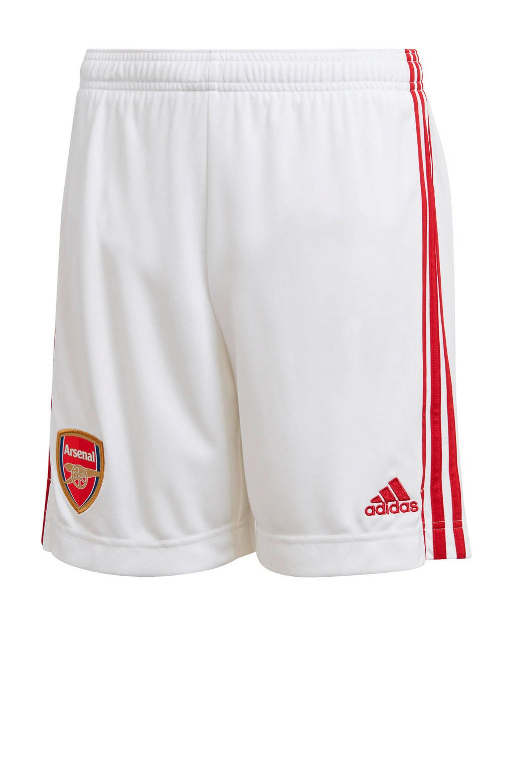 adidas Performance Junior Arsenal FC voetbalshort, Wit/rood