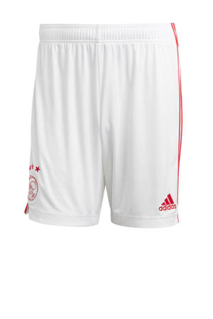 thuis short wit/rood