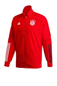 adidas Performance Senior FC Bayern München presentatie jack rood, Rood