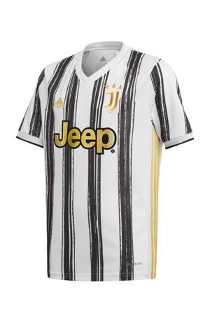 Junior Juventus voetbalshirt Thuis wit/zwart