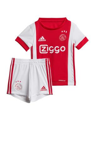 Ajax thuis babykit rood/wit