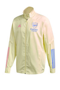 adidas Performance Senior Arsenal FC presentatie jack geel, Geel