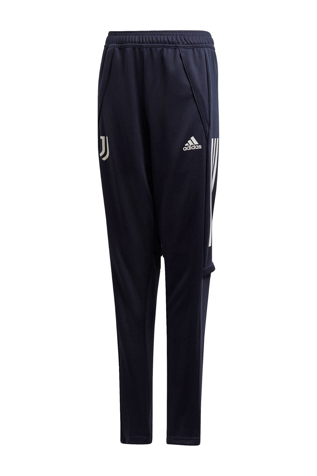 adidas Performance Junior Juventus voetbalbroek Training, Donkerblauw