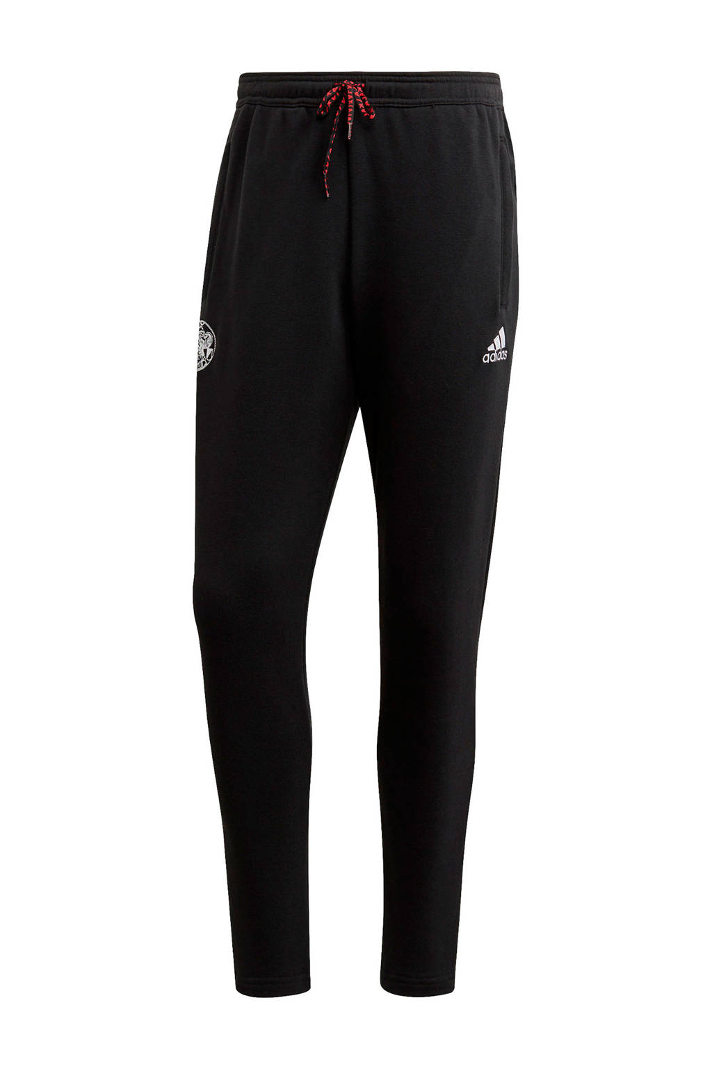 adidas Performance Senior Ajax joggingbroek zwart, Zwart