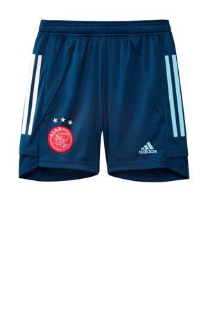 Junior Ajax training short donkerblauw