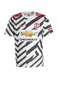 adidas Performance Junior Manchester United voetbalshirt, Wit/zwart