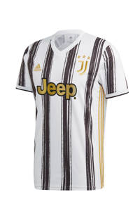 adidas Performance Senior Juventus voetbalshirt Thuis, Wit/zwart