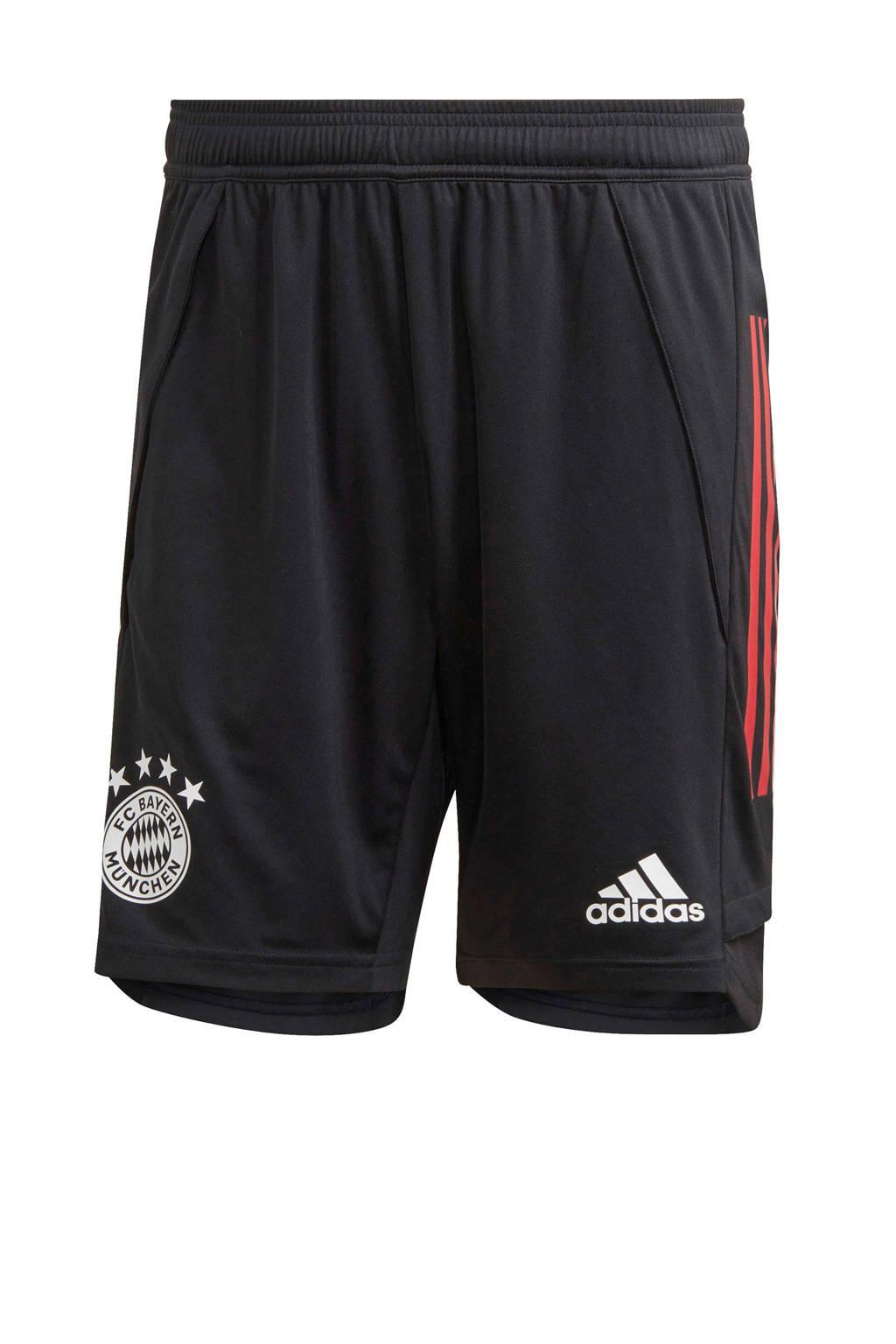 adidas Performance Senior FC Bayern München voetbalshort Training, Zwart