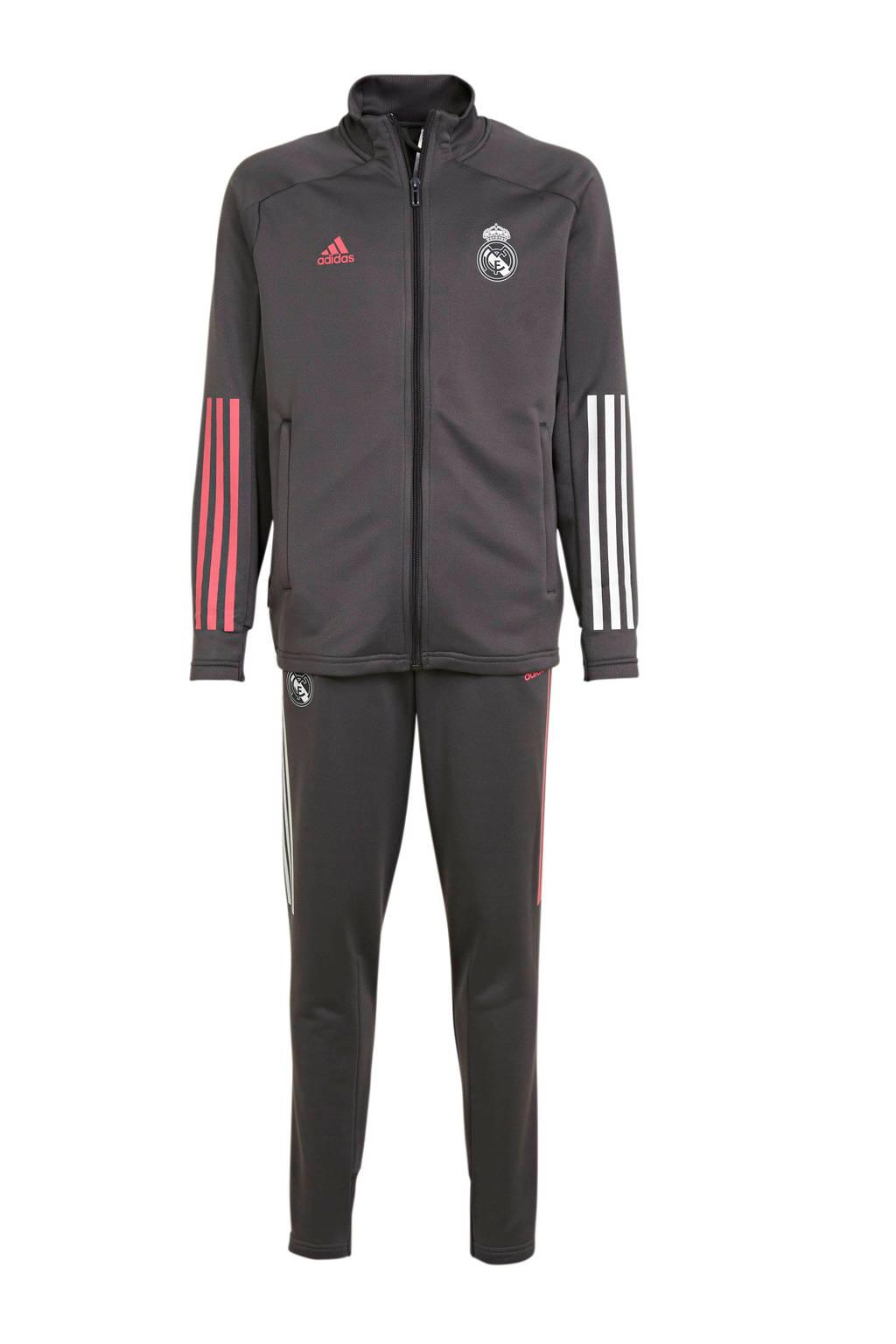 adidas Performance  Real Madrid trainingspak grijs, Grijs