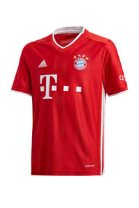 adidas Performance Junior FC Bayern München thuis T-shirt rood, Rood