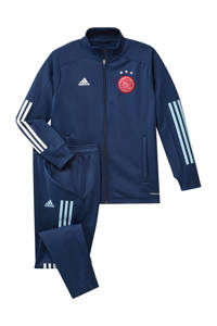 adidas Performance Junior Ajax trainingspak donkerblauw, Donkerblauw