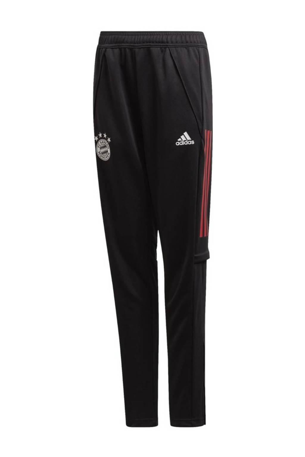 adidas Performance Junior FC Bayern München voetbalbroek Training, Zwart
