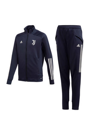 Junior Juventus trainingspak donkerblauw