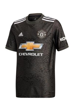 Junior Manchester United voetbalshirt donkergroen/zwart