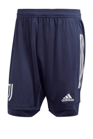 Senior Juventus voetbalshort donkerblauw