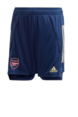 Junior Arsenal FC training short donkerblauw