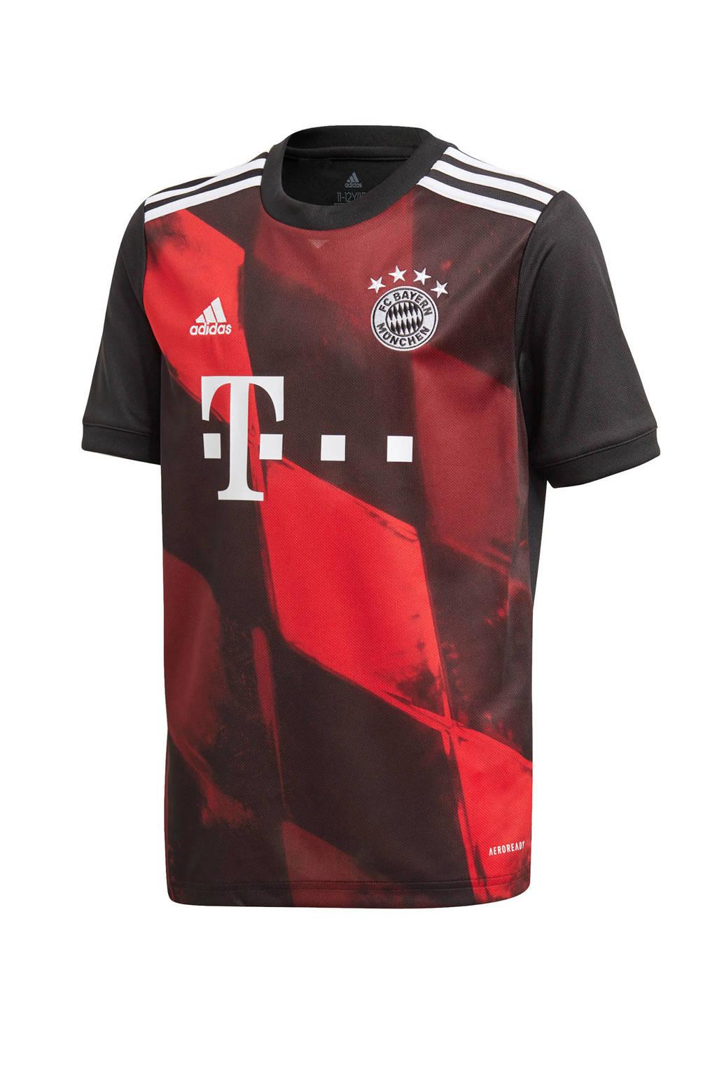 adidas Performance Junior FC Bayern München derde shirt zwart/rood, Zwart/rood