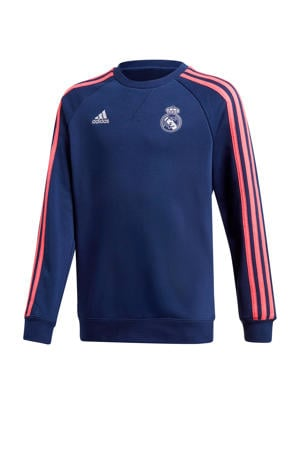 Real Madrid voetbalsweater donkerblauw