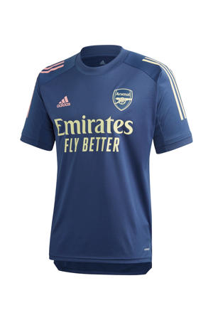 Senior Arsenal FC training T-shirt donkerblauw
