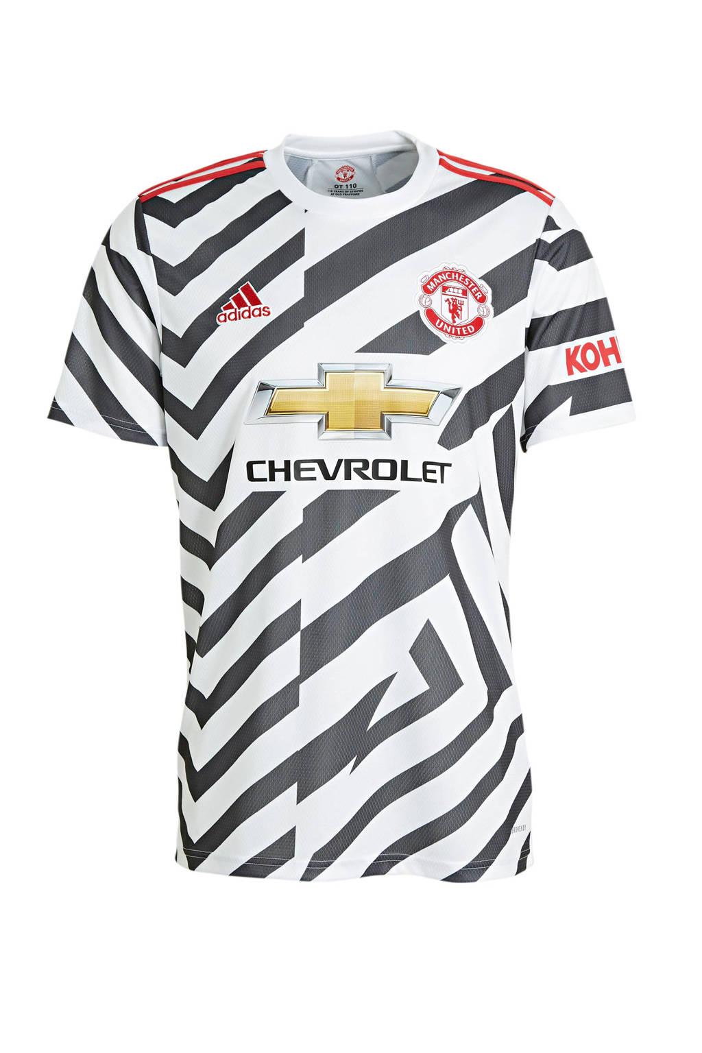 adidas Performance Senior Manchester United 3e shirt wit/zwart, Wit/zwart