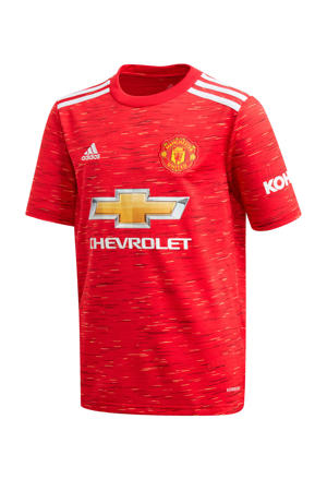 Junior Manchester United thuis shirt rood