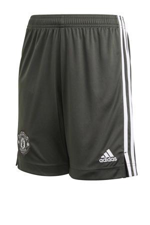 Junior Manchester United voetbalshort Uit