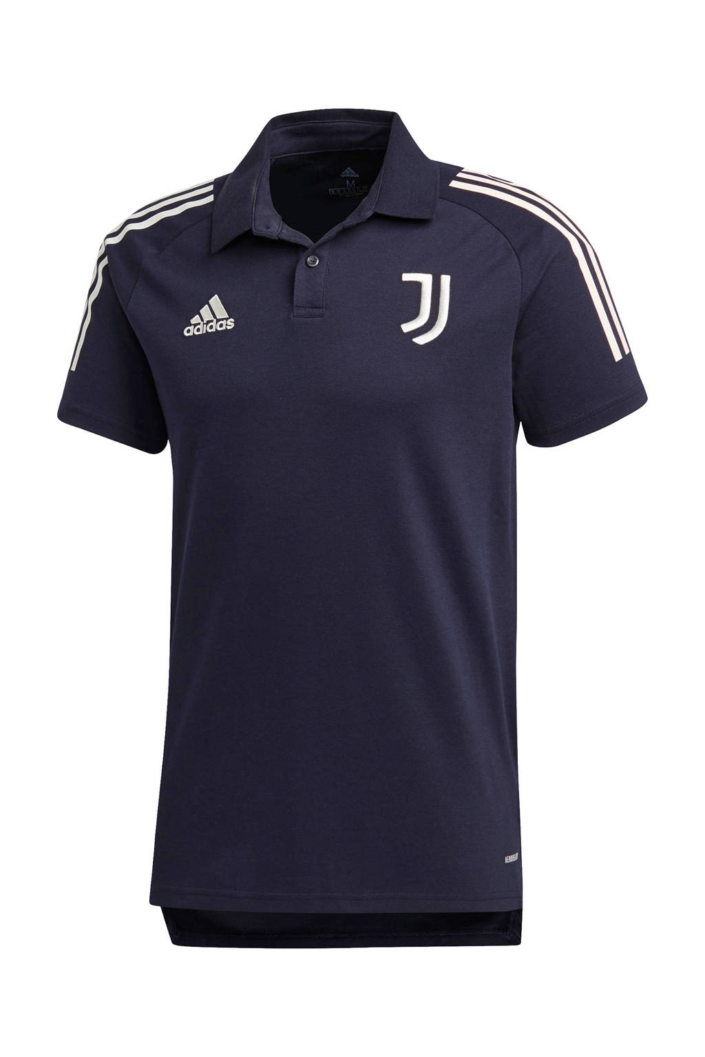 adidas Performance Senior Juventus polo donkerblauw, Donkerblauw