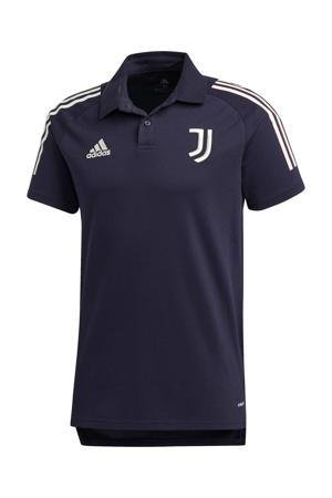 Senior Juventus polo donkerblauw