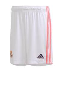 adidas Performance Senior Real Madrid thuis short wit, Wit