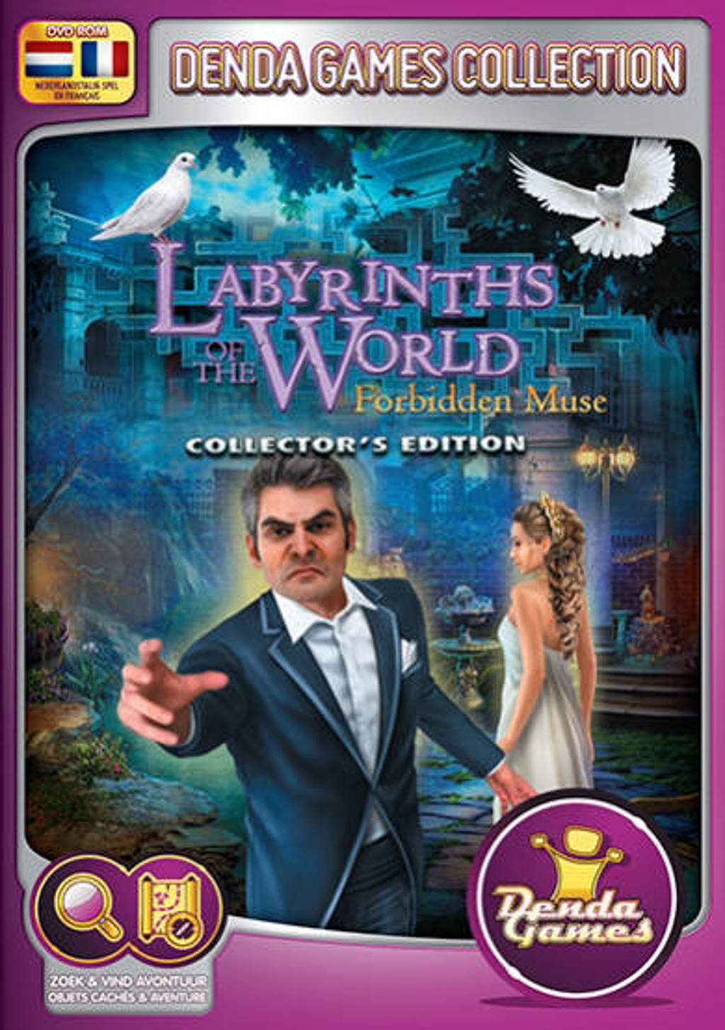 Labyrinths of the world - Forbidden muse (Collectors edition) (PC)