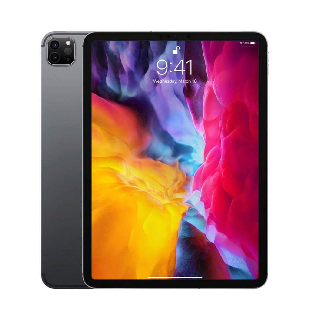 "Apple Wi-Fi + 4G 256GB tablet (Space Gray) iPad Pro 11""(2020), Grijs"