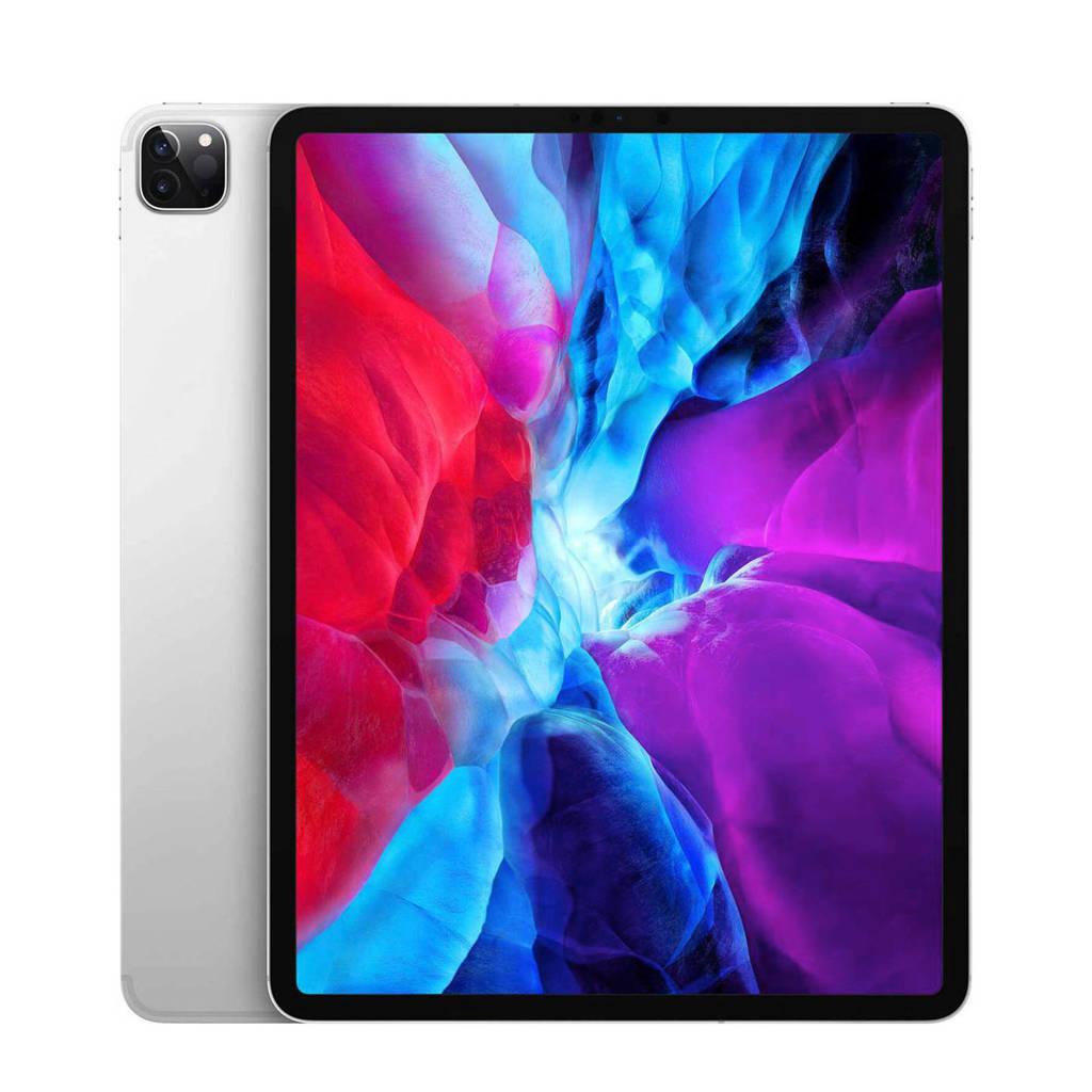 "Apple Wi-Fi + 4G 128GB tablet (Zilver) iPad Pro 12.9"" (2020)"