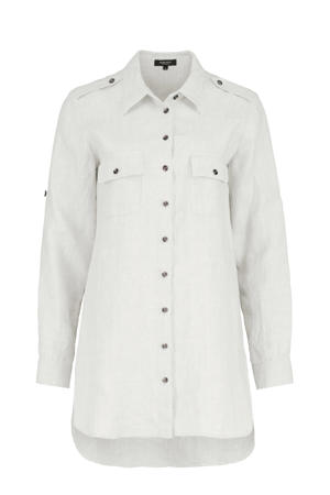 linnen blouse off white